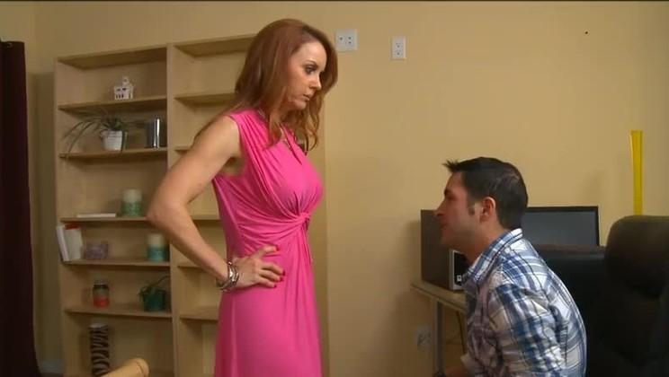 hot-redhead-secretary-nude