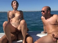 Preparing A Mature Lady, Taking Part In An Amazing Sexy Party