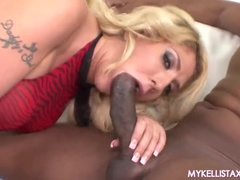 Lovely Kelli Staxxx In The Hot Interracial Performance