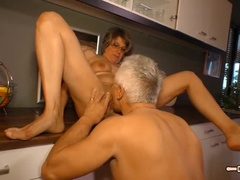 Incredible Experienced Woman Showing Video With Work
