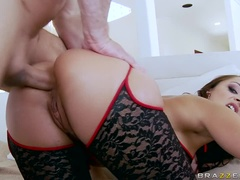 Sexy Fluffy Russian Girl Liza Del Sierra Acts In Anal Fuck