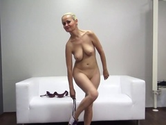 Milf Showed Off Her Body And Sucked Dick From A Fake Agent